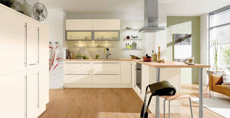 kuche magnolie weiss. Black Bedroom Furniture Sets. Home Design Ideas